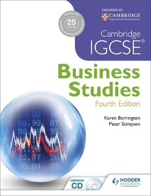 Cambridge IGCSE Business Studies by Karen Borrington, Peter Stimpson