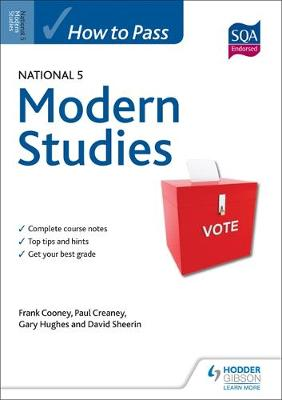 How to Pass National 5 Modern Studies by Frank Cooney, Paul Creaney