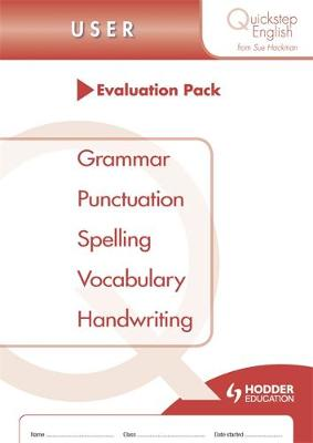 Quickstep English User Stage Evaluation Pack by Sue Hackman