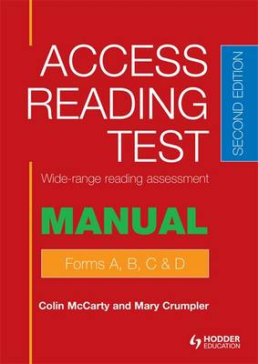 Access Reading Test (ART) Manual by Mary Crumpler, Colin McCarty