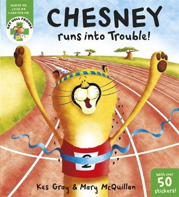 Chesney Runs into Trouble by Kes Gray
