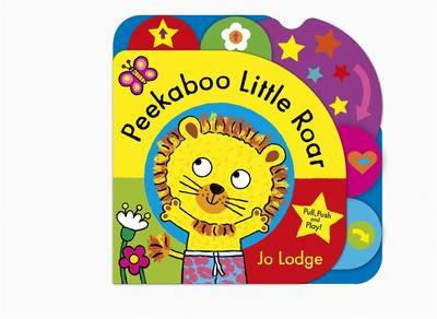 Peekaboo Little Roar by Jo Lodge