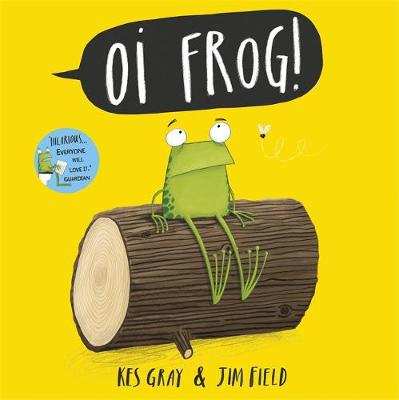 Oi Frog! Jigsaw Book by Kes Gray