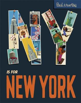 NY is for New York by Paul Thurlby