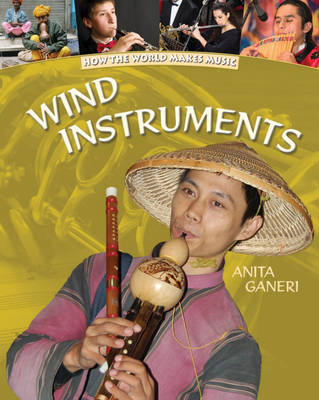 Wind Instruments by Anita Ganeri