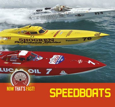Speed Boats by Kate Riggs