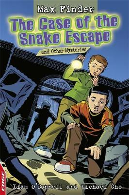 The Case of the Snake Escape and Other Mysteries by Liam O'Donnell, Michael Cho