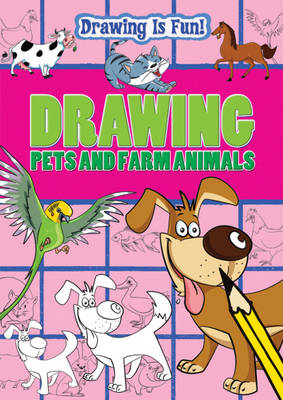 Drawing Pets and Farm Animals by Trevor Cook, Lisa Miles, Rebecca Clunes