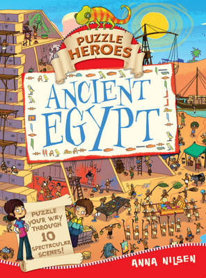 Ancient Egypt by Anna Nielsen