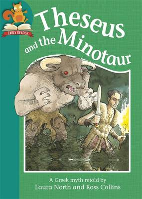 Theseus and the Minotaur by Laura North