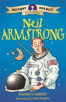 Neil Armstrong by Damian Harvey