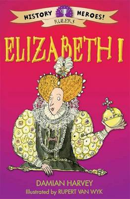Elizabeth I by Damian Harvey