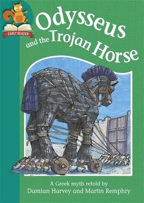 Odysseus and the Trojan Horse by Damian Harvey
