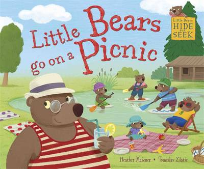 Little Bears Hide and Seek: Little Bears Go on a Picnic by Heather Maisner