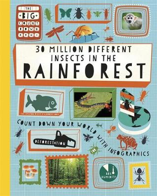 30 Million Different Insects in the Rainforest by Paul Rockett