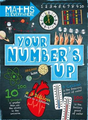 Your Number's Up Digits, Number Lines, Negative and Positive Numbers by Rob Colson
