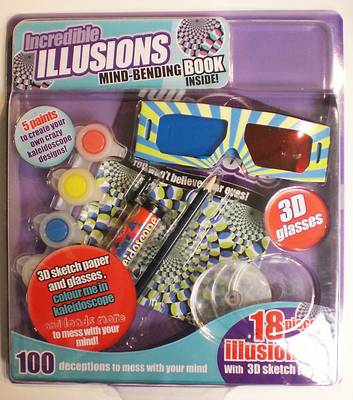 Brain Games and Illusions Large Blister Pack by