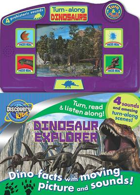 Discovery Moving Picture Book Dinosaur by