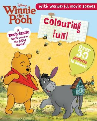 Winnie the Pooh the Movie - Colouring by