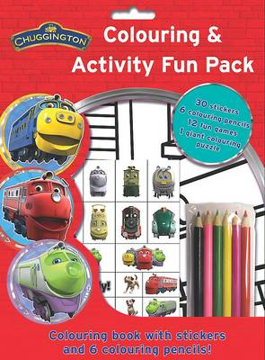 Chuggington Colouring and Activity Fun Bag by