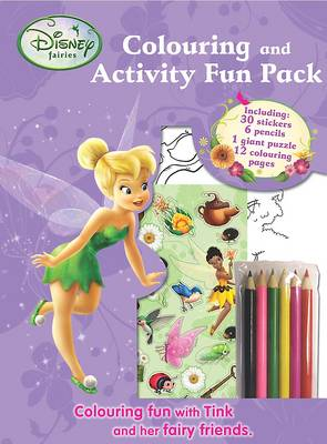 Disney Fairies Colouring and Activity Fun Bag by
