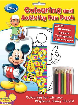 Disney Playhouse Colouring and Activity Fun Bag by