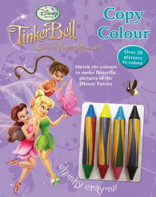 Disney Fairies - Copy Colour by