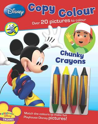 Disney Junior - Copy Colour by