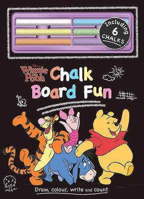 Disney Winnie the Pooh Chalk Board Book by