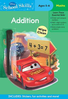 Disney School Skills Cars Lets Learn Addition by