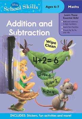 Disney School Skills Fairies Addition and Subtraction by