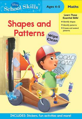 Disney School Skills Handy Manny Shapes and Patterns by