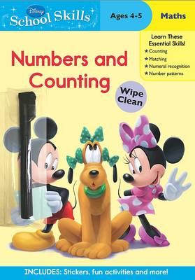Disney School Skills MMCH Numbers and Counting by