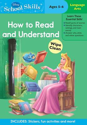 Disney School Skills Princess How to Read and Understand by