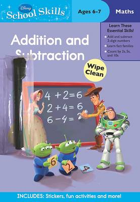 Disney School Skills - Toy Story Addition and Subtraction by