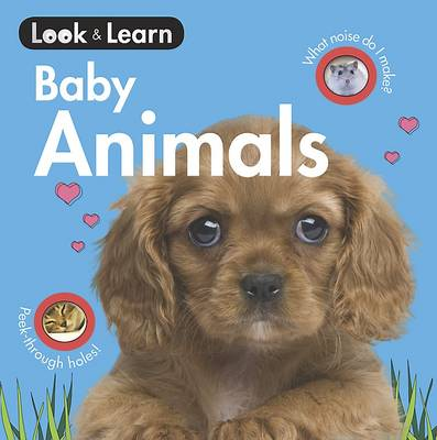 Baby Animals Board Book by