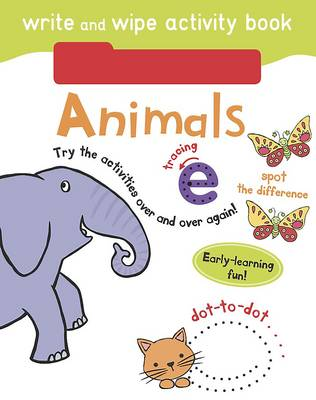 Write and Wipe Activity - Animals by