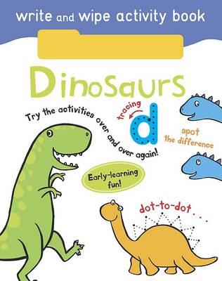 Write and Wipe Activity - Dinosaurs by