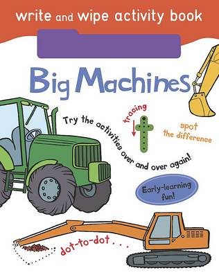 Write and Wipe Activity - Big Machines by