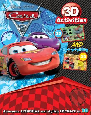 Disney 3d Activity - Cars 2 by