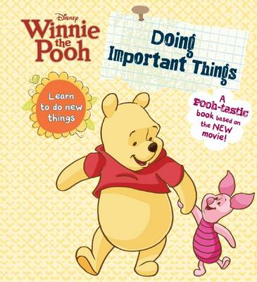 Winnie the Pooh - Doing Important Things by
