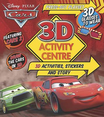 Disney Pixar 3d Activity Centre Cars by