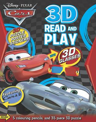 Disney Cars 3d Puzzle Playpack by