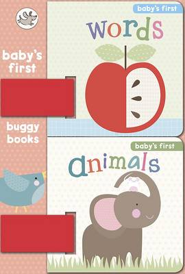 Animals and Words Baby's First Buggy Books by Little Learners