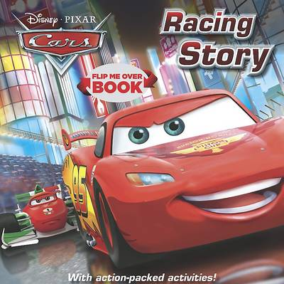 Disney Cars Flip Me Over - Activity and Story Book by