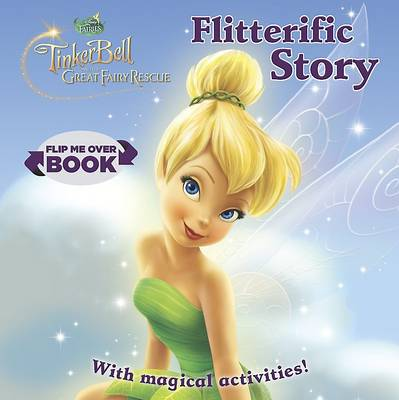Disney Fairies Flip Me Over - Activity and Story Book by