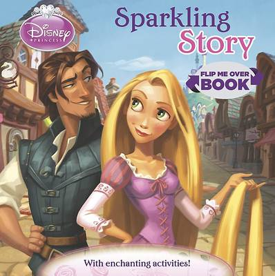 Disney Princess Flip Me Over - Activity and Story Book by