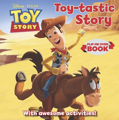 Disney Toy Story Flip Me Over - Activity and Story Book by