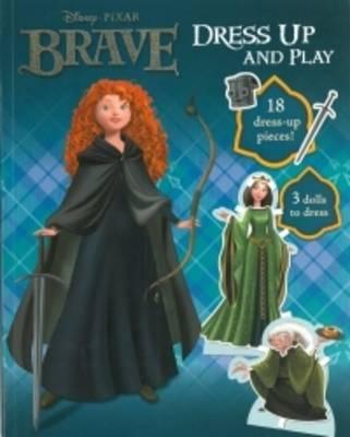 Disney Brave Doll Dressing Book by
