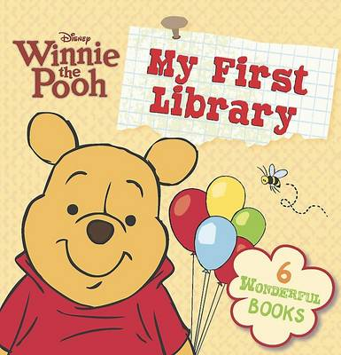 Disney Large Winnie the Pooh Library by
